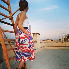 Peru midi skirt: dress to enjoy