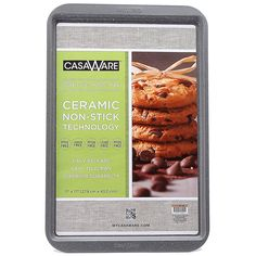 CasaWare Ceramic Coated NonStick Cookie/Jelly Roll Pan 11'x17' (Silver Granite) ** Check this awesome product by going to the link at the image.