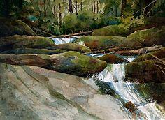 Gloria Miller Allen Watercolor