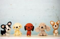 9784579113248 felt dogs made of wool japanese craft book | by feltcafe