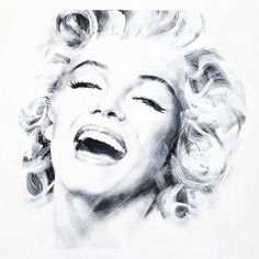 "Saatchi Art Artist Jean Pierre Rousselet; Painting, ""Marilyn Three"" #art"