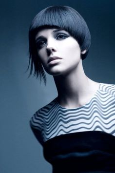 Here's Gemma Sanderson with a contemporary hair cut. Would you cut your hair for a job? Models are often put in wigs too. Find out about things you might be asked to do in our blog.