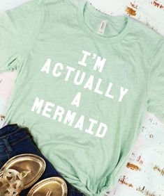 DDP Monograms Personalized Shirts, Jersey Shorts, Monograms, Short Sleeve Tee, Mermaid, Cricut, Graphic Sweatshirt, Unisex, Tees
