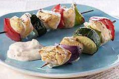Tangy Grilled Chicken Kabobs Kraft Recipe