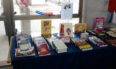 Exhibición de libros nuevos