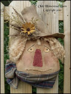 PatternMart.com ::. PatternMart: Prim Scarecrow Harvey PATTERN OHBPM