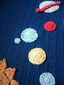 Purple Chair Crochet: Solar System Baby Blanket (finished!)