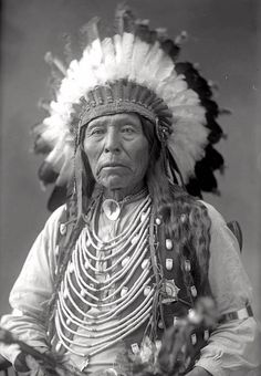 Wild Horse, cousin of Crazy Horse. Oglala Lakota. 1880s.