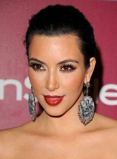 Top 20 Kim Kardashian Makeup Looks, can i just have her makeup artist