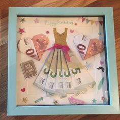 Picture result for birthday money gift # cadeauxàréalisersoimême Pictures . Happy Birthday 1, Birthday Money Gifts, Creative Birthday Gifts, Birthday Presents, Birthday Brunch, Diy Gifts, Handmade Gifts, Creative Money Gifts, Birthday Images