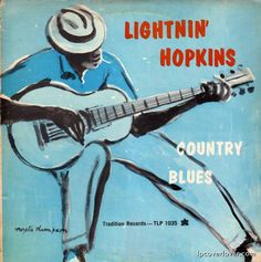 I own a few LP's of Mr. Hopkins and I would love to get ahold of this.  Heck, just a print of the cover would suffice.