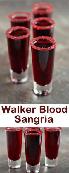 From potions and brews to blood and magic, try these hauntingly tasty Halloween drinks and cocktails.. When you drink the Walker Blood Sangria, you would look deadlier since it would seem that you are drinking blood cruelly!!! Give the adults a fantastic treat with these spooky Halloween drinks and cocktails. Vampire Cocktail is the perfect spooky Halloween drink.