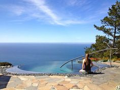 This Meditation Pool is located on the northern side of the property and kept a very comfortable temperature for your soaking pleasure. Enjoy watching whales pass below from a birds-eye-view during the annual Gray whale migration.