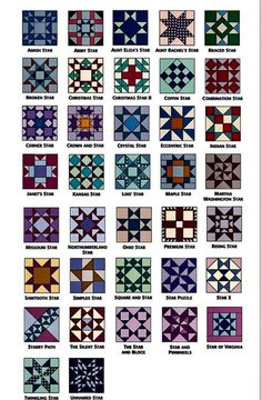 Star quilt block patterns for an astronomical block challenge – Artofit Quilt Square Patterns, Beginner Quilt Patterns, Barn Quilt Patterns, Pattern Blocks, Square Quilt, Star Quilt Blocks, Star Quilts, Rag Quilt, Barn Quilt Designs