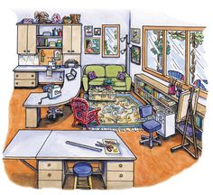 Downloadable Images and Press Releases for Dream Sewing Spaces