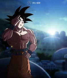 So it's a bit late but, with this I have officially paid my respects to Dragon Ball Super. Goodbye Goku, till the day we meet again! Dragon Ball Z, Dragon Ball Image, Dragon Z, Dbz, Foto Do Goku, Saga, Cultura Pop, Kawaii Anime, Cartoon