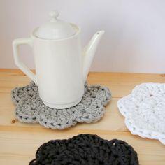 Dessous de plat en crochet