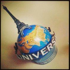 Eiffel tower. The world is my destination