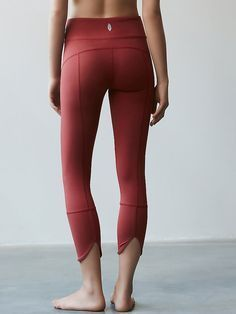 Virgo Legging | Activewear leggings in a performance stretch fabric. Features a banded waistband and slit back hem.#yoga #fitness #leggings | Shop @ FitnessApparelExpress.com