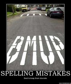 Spelling mistakes...