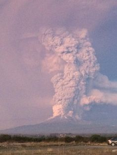 Southern Chile's Calbuco volcano erupted on Wednesday, 22 April,2015 for the first time in nearly half a century. Authorities declared a state of emergency.