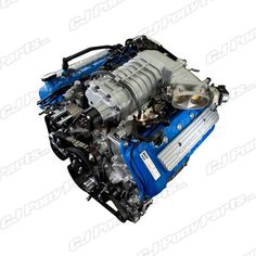 Mustang Ford Racing 5 4L Supercharged Engine GT500 2011