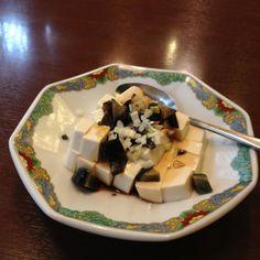 century egg and tofu