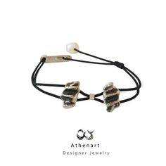 Silver charm braceletmodern braceletoxidised Bracelet Designs, Silver Charms, Silver Bracelets, Hair Accessories, Charmed, Jewels, Mini, Etsy, Collection