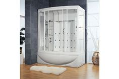 Ariel ZA210 Steam Shower With Thermostatic Faucet at bluebath.com