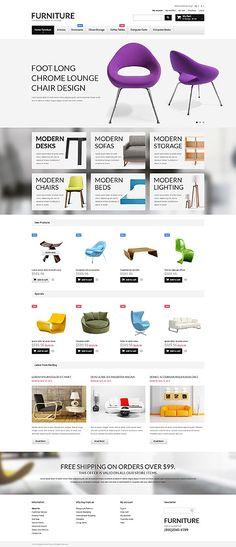#Creation #Conception #Site #web, #Template #Responsive #Parallax #Wordpress, #joomla, #Magento, #Prestashop