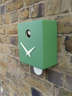 modern cuckoo clock with a tick tock! best of both worlds