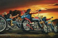 David Mann Motorcycle Art | ... Editions - All Artwork - David Mann - Motorcycle Art | Fine Art World