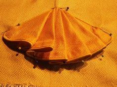 How to make these cute appliqués, by Sabine! Kleidung um 1800: Wintertristesse adieu!