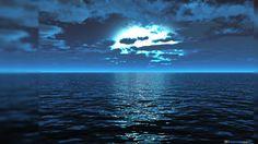 Windows 8 Mar Azul 3D Wallpaper