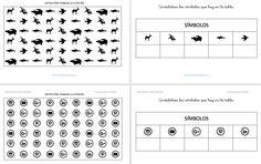 Atención Mantenida Fichas contamos imágenes con matrices medianas
