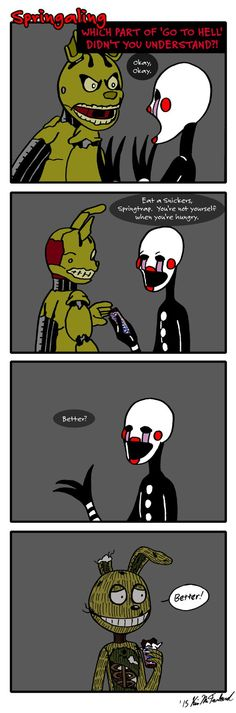 Springaling 104: You're not Yourself by Negaduck9.deviantart.com on @DeviantArt