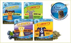 Your pup is sure to get addicted to Clear Conscience Pets Cruncherz™ treats, and you don't have to feel guilty about it! The treats are baked with no wheat, grains, or gluten. These delicious homestyle recipes are all natural and holistically formulated with organic and family-farmed ingredients. Plus, Cruncherz™ are made with no artificial preservatives, flavors, colors or GMOs. This deal features a variety pack of all four flavors: Ocean Dreams, Ginger Yaps, Pumpkin Patch and Peace Berry…