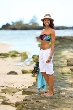 For the last 5yrs, I have only ordered Athleta swimsuits.  They are the best.  Love this one and cant wait for the warm weather of summer to wear it!   Samba Bandeau Bikini + Beachgoer Bermuda   Athleta Summer 2013 Collection