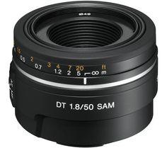 SONY Obiettivo 50mm f/1.8 SAL-50F18 | Pixmania