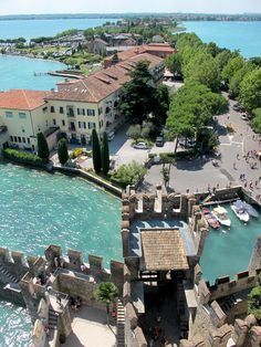 Sirmione, Lake Garda, Italy, I saw this place in 2012, it's really wonderful!