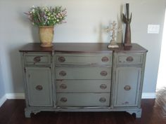 Similar style to my buffet, different color