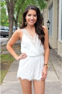 Lovely Lace Romper