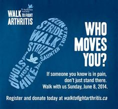 Walk to fight arthritis vancouver bc june 8 2014 Yoga For Arthritis, Psoriatic Arthritis, Vancouver Photos, Autoimmune Disease, June 8, Cure, Dog Lovers, Goal, Walking