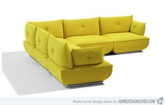 15 Flexible Modern Modular Sofa Systems | Home Design Lover