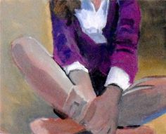 Violet Sweater by Carey Parks-Schwartz Original Art For Sale, Original Artwork, Original Paintings, In Another Life, High School Art, Online Painting, Parks, Sweater, Houzz