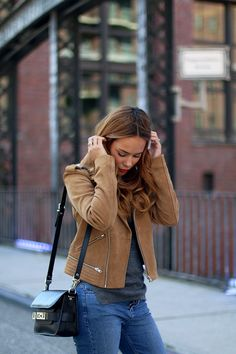 teetharejade » Blog Archive Outfit: The Suede Leather Jacket - teetharejade