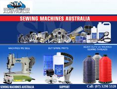 At Sewing Machines Australia, we are dedicated to selling industrial heavy duty sewing machines and other lightweight machines at highly competitive prices. We can service them to ensure their optimal performance and can also supply spare parts and accessories for any model or make. We have new and used industrial sewing machines featured on our online catalogue and to enable our customers to easily locate what they need, we group them by model and brand.