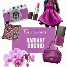 Como usar Radiant Orchid (a cor de 2014)