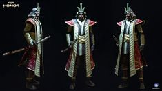 ArtStation - For Honor : Emperor and the Wolf, Can Etiskol