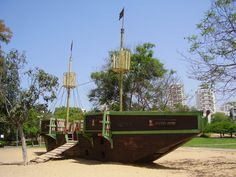 Sport Park, Outdoor Play Areas, Playgrounds, Ship, Places, Ships, Lugares